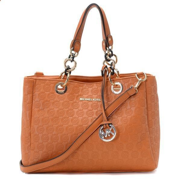 Do Not Lose The Chance To Own Michael Kors Logo-Print Large Brown Satchels With A Low Price.