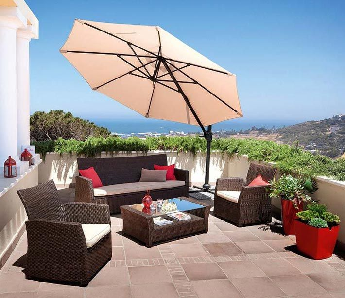 Вдохновляющие идеи для открытой террасы на крыше