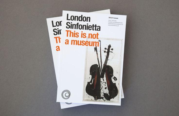 LONDON SINFONIETTA 2013 - Harrison Agency