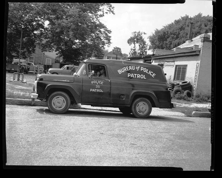 Vintage richmond va police dept on wheels vintage for Department of motor vehicles richmond va