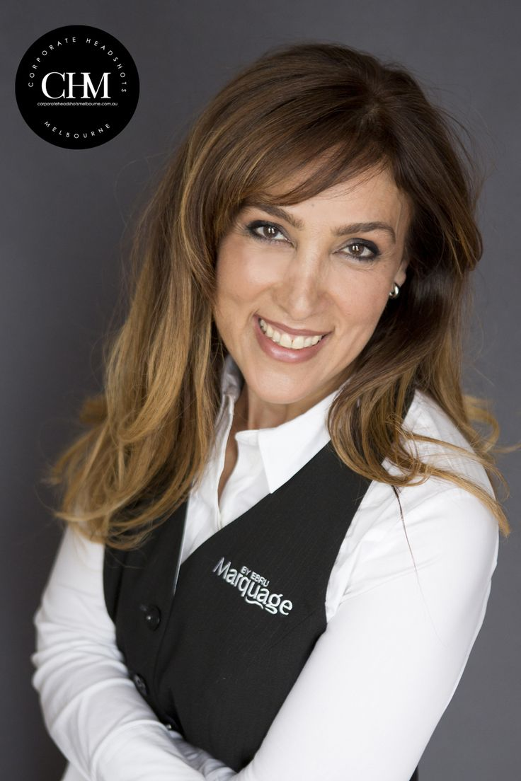 Brand your corporate image with your very own branding uniform, we love this image of owner hairsalon