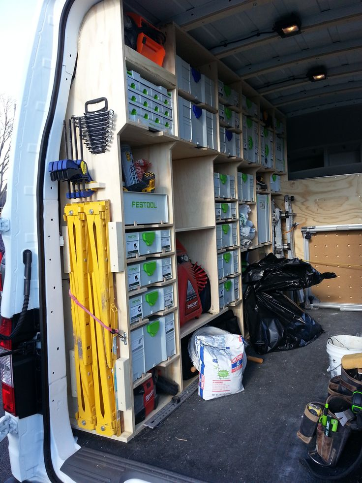 New Van Racking