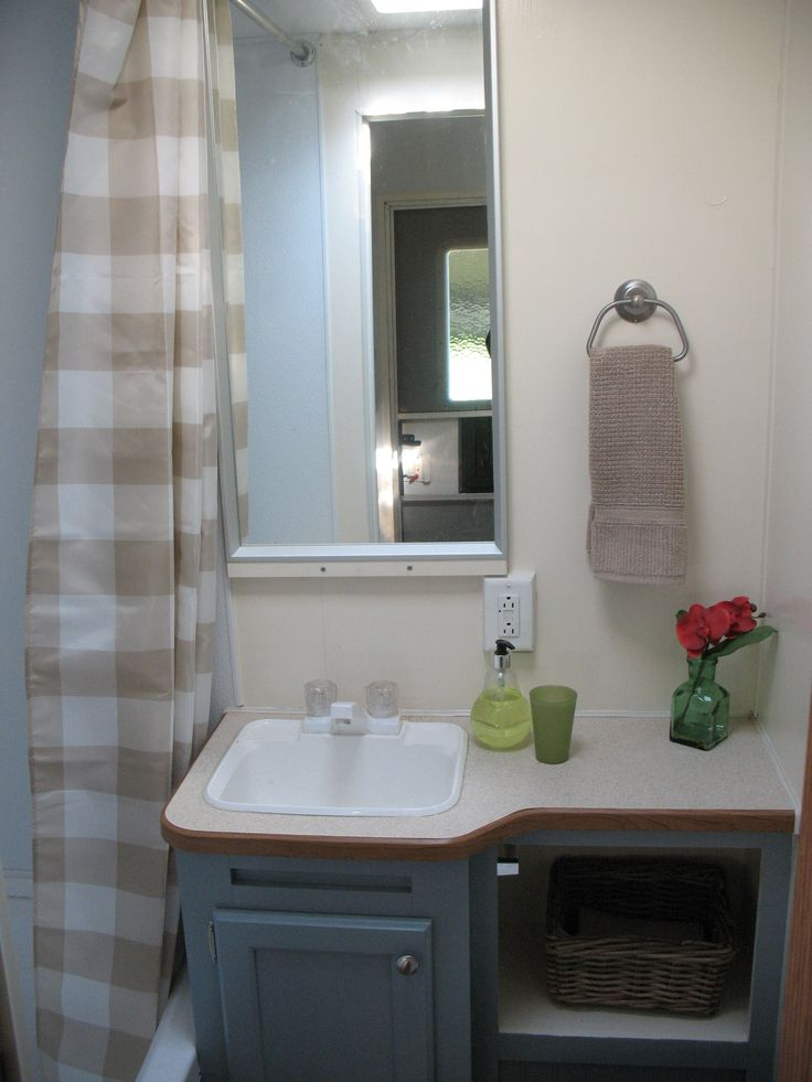 Travel Trailer Bathroom Sinks My Web Value - Travel trailer bathroom remodel