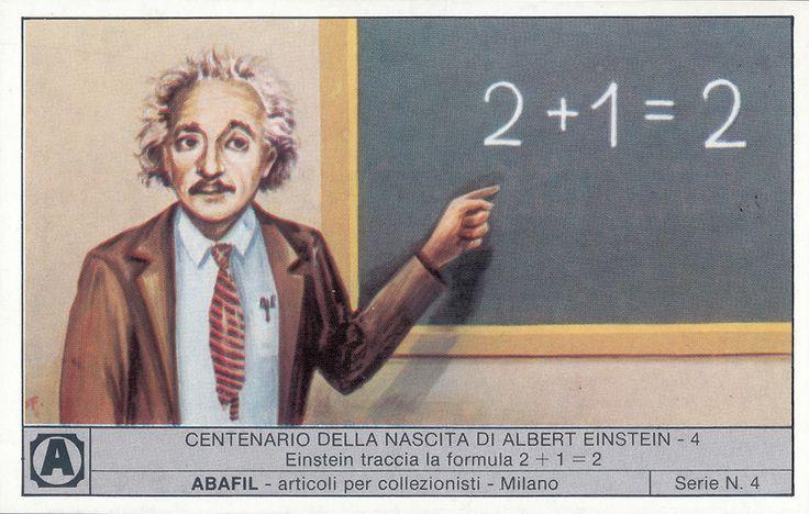 Albert Einstein, 1979; figurina Abafil