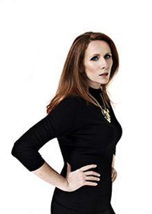 Catherine Tate: 'The most important way that Doctor Who changed my life was that David Tennant became a good friend.'  Photograph: Perou for...