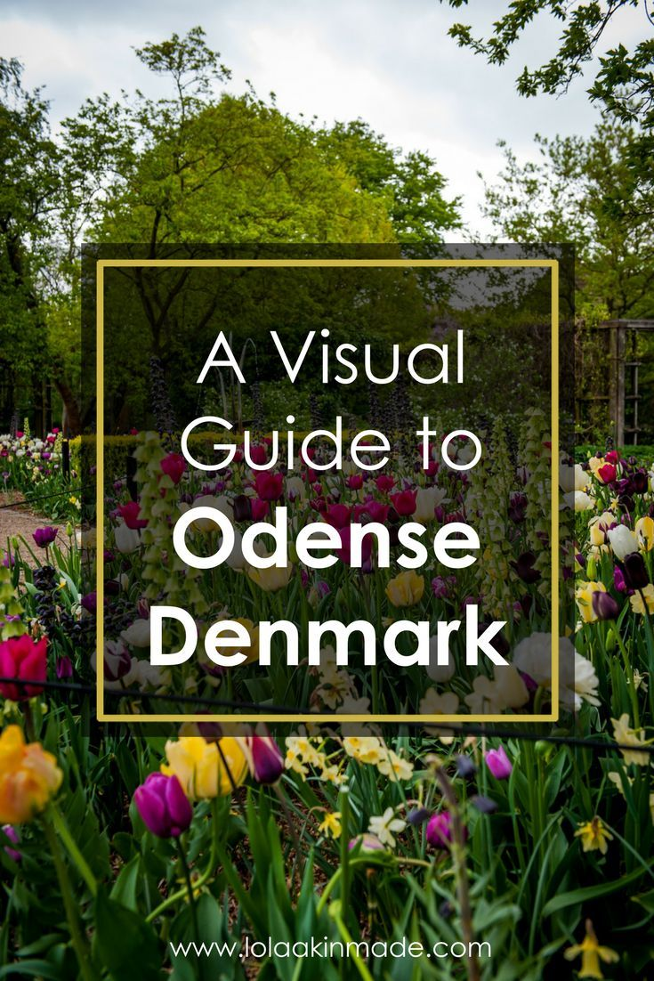 A visual tour of Odense, Denmark's fairytale town. Travel tips on what to see, do, and eat in this quaint European city.   Geotraveler's Niche Travel Blog