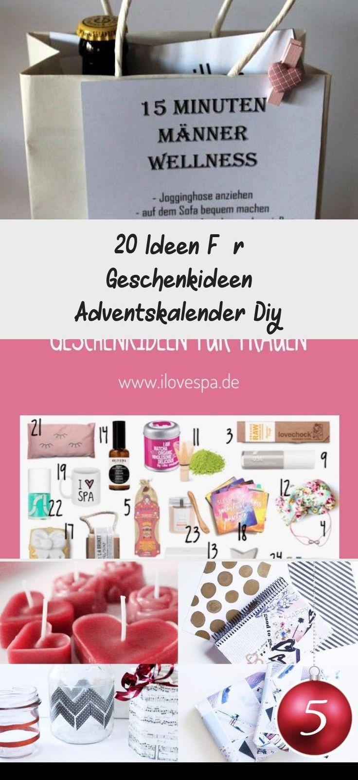 .20 Ideen Für Geschenkideen Adventskalender Diy