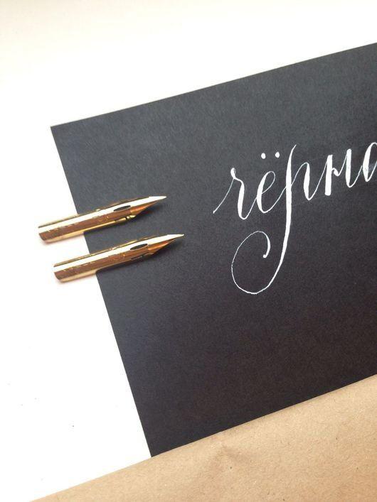 Черная бумага для каллиграфии острым пером, 80г, 50 листов