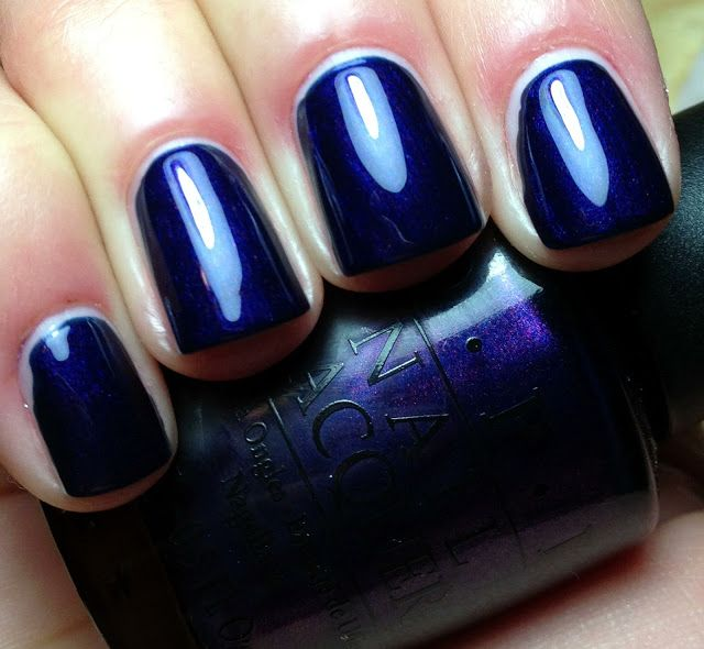 Russian Navy-OPI! Possibly my most favorite polish ever :)