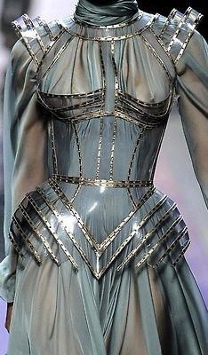 bambiandpixie:  theworldofsteam:  Jean Paul Gaultier haute couture  Neeeeeed