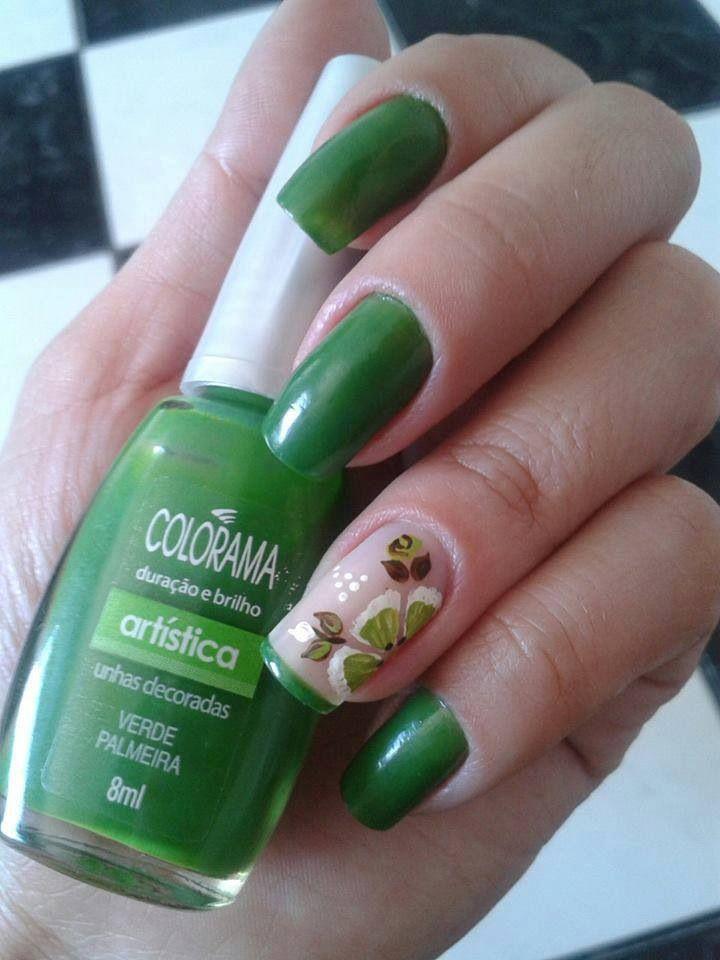 Mejores 182 imágenes de Nail Art en Pinterest | Diseño de uñas ...