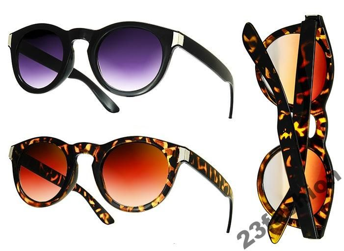 Okulary Damskie Vintage ZuZa Hipster Nerd Geek