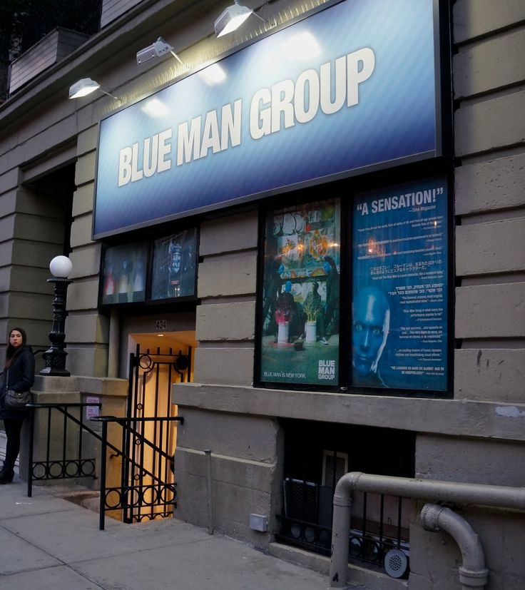 My 6 favorite New York experiences: Watch the Blue Man Group