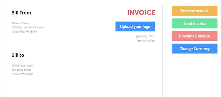 Más de 25 ideas increíbles sobre Invoice maker en Pinterest - simple invoice maker