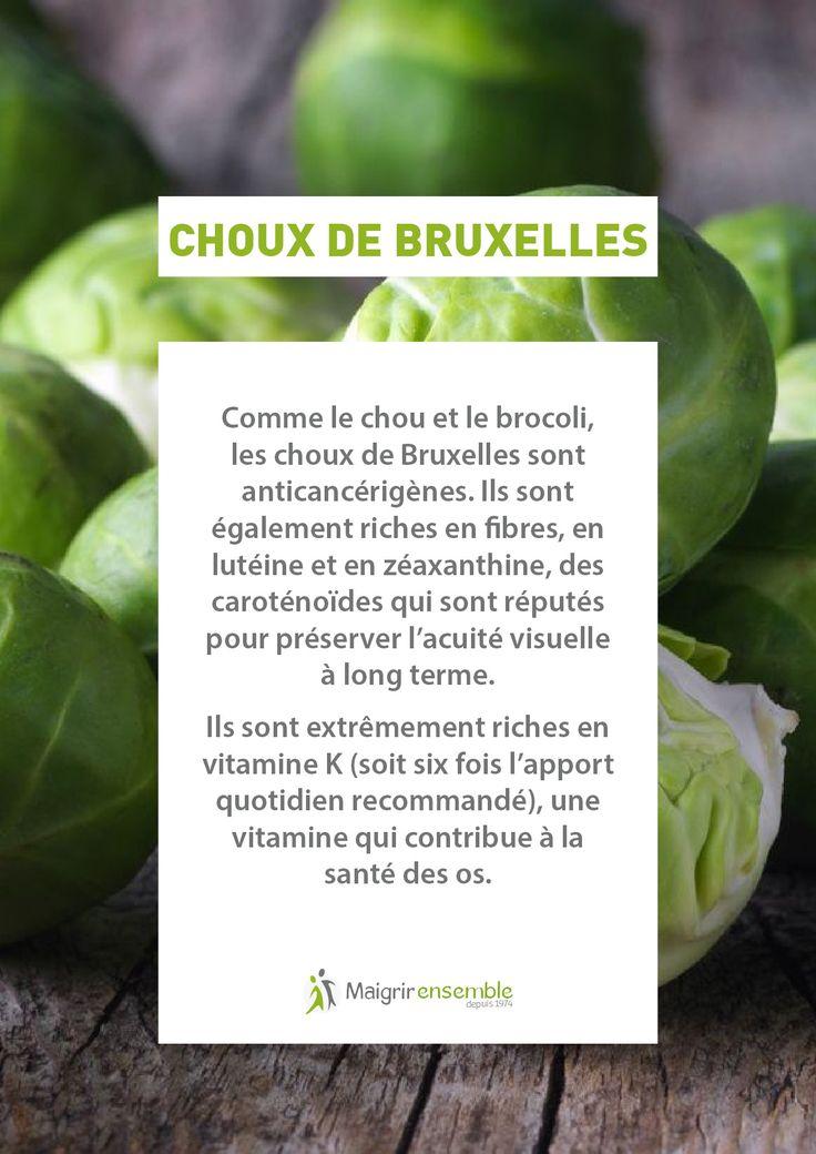 Bienfaits Fruits et Légumes - Les choux de Bruxelles // Bienfaits Alimentation saine et équilibrée