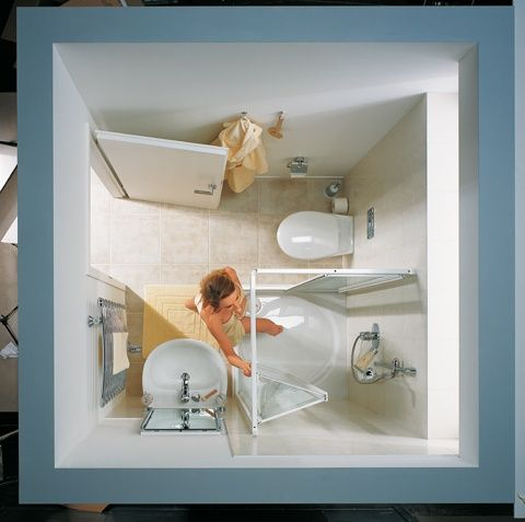 Kleine badkamer Kermi Ibiza