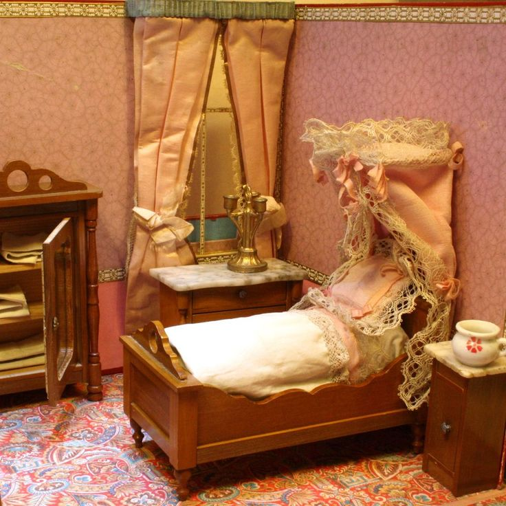 vintage pink bedroom the pink bedroom antique miniature boxed bedroom with 13745