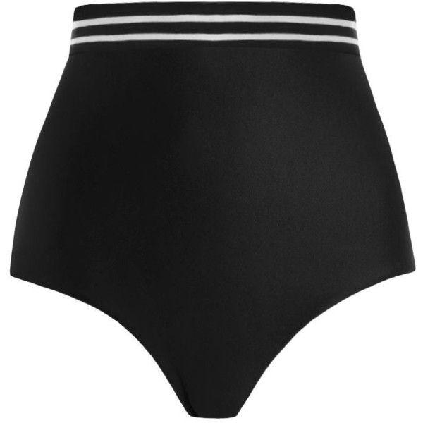 ZIMMERMANN Separates High Elastic Pant Bikini Bottom ($99) ❤ liked on Polyvore featuring swimwear, bikinis, bikini bottoms, zimmermann, striped bikini bottoms, striped bikini, high waisted bikini, high-waisted bikinis and zimmermann bikini