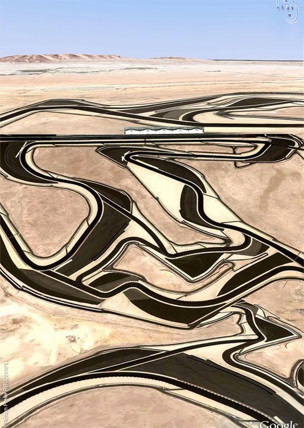 GOOGLE EARTH ART: Florian Freier | Freier recreates places on Google Earth with copy/paste feature