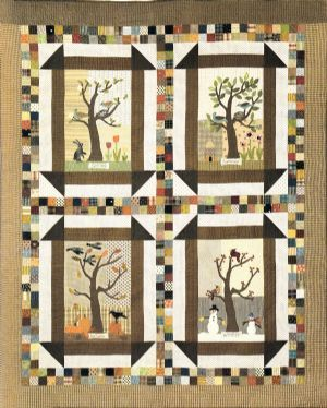 Four Seasons Quilt Block Of The Month Quilts Pinterest