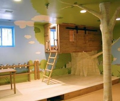 Tree house kids room