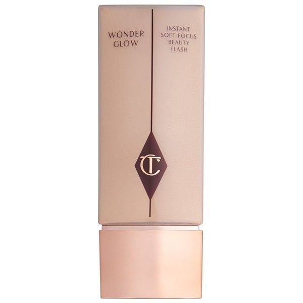 Charlotte Tilbury Wonderglow Instant Soft-Focus Beauty Flash Primer ($55) ❤ liked on Polyvore featuring beauty products, makeup, face makeup, makeup primer and no color