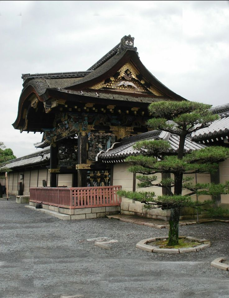 Japón. The Nishi Honganji and Higashi temple Kyoto