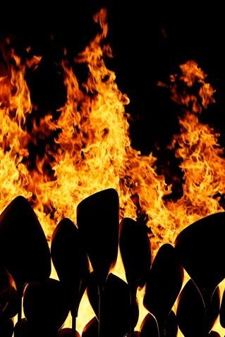London Olympic Opening Ceremony: Cauldron Lighting - Slideshows | NBC Olympics