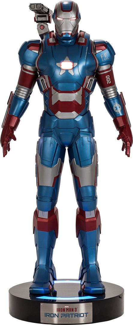 Iron Patriot (Life Size)  $8999.99  Click on picture links for more details, pictures, and to pre-order!
