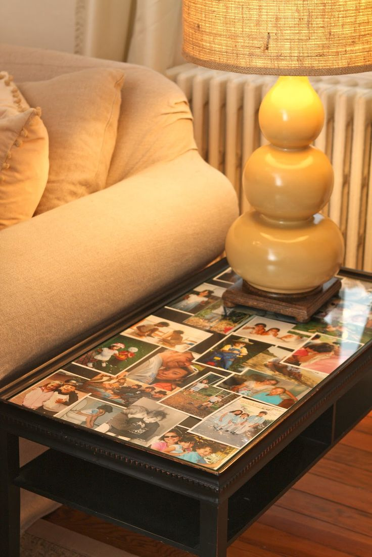 25 best postcard coffee table project images on pinterest coffee my old country house photos under glass on coffee table no clutter geotapseo Images
