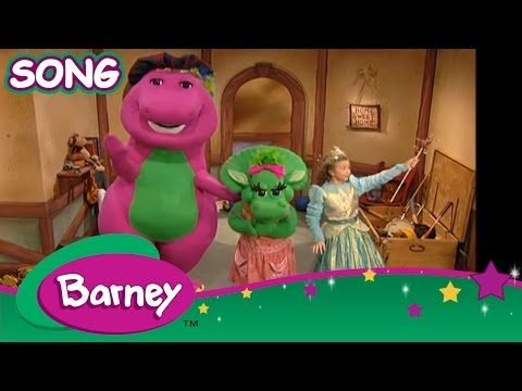 Barney - The Clean Up Song (SONG) - YouTube