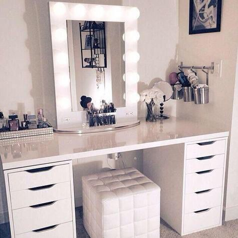 best 25+ makeup vanity lighting ideas on pinterest | mirrored