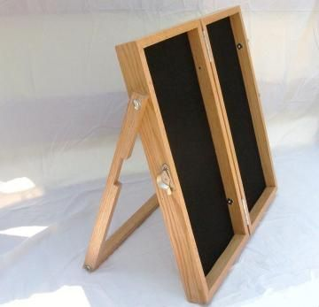 Fold up Jewelry Display by artisanwoodcrafting for $165.00