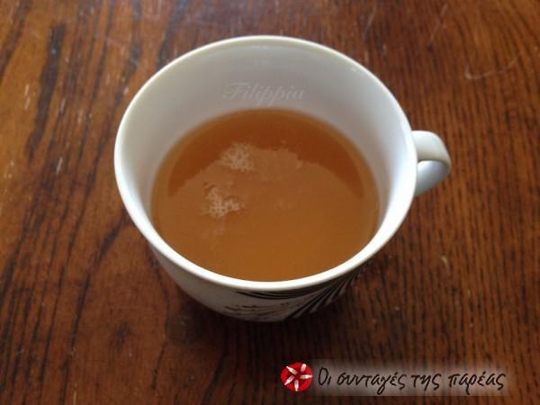 Beverage for a cold #cooklikegreeks #beverageforacold