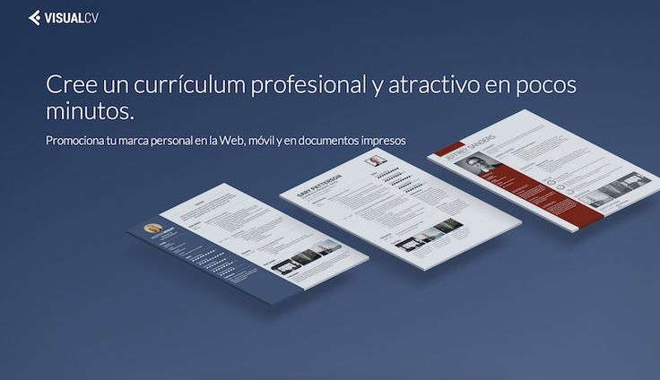 Foto: Editor para crear curriculums vitae en linea recursos internet