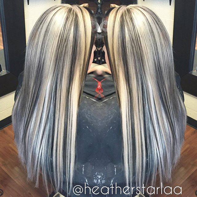 500 best highlighted streaked foiled frosted hair 1 images on heather fox heatherstarlaa heavy blonde highstagram photo websta webstagram pmusecretfo Gallery