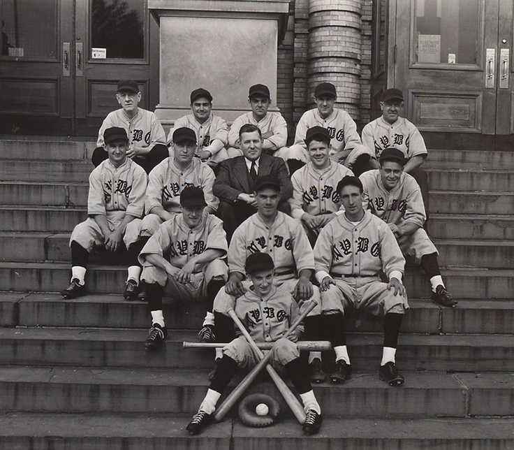 It is Major League Baseball's Opening Day, but did you know that The New York Botanical Garden once fielded its own baseball team? Here is a photo of the 1938 squad - David the bat boy included.    From The New York Botanical Garden's archival photographs, in the collections of The LuEsther T. Mertz Library.