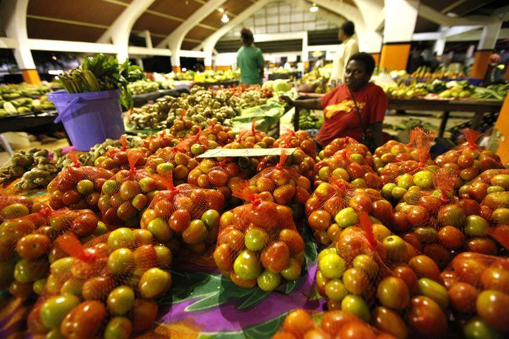 Port Vila Fruit & Vege markets