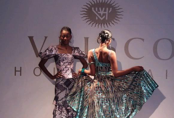 Vlisco african print fabric in Congo