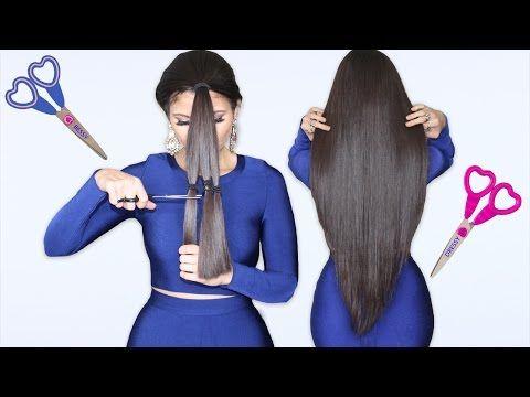 como cortar el cabello en capas y v hazlo tu misma bessy dressy youtube