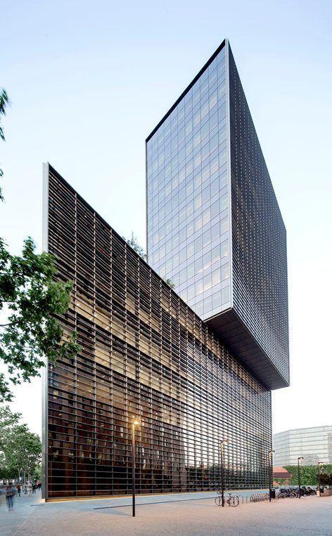 Cuatrecasas Lawyers Headquarters. Barcelona | GCA Architects | #Barcelona #SpanishArchitecture #Highrises #solicitorlawyer