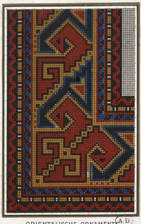 Gallery.ru / Фото #12 - старинные ковры и схемы для вышивки - SvetlanN