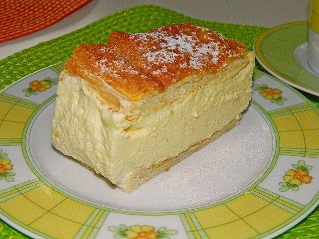 Leckere Rezepte: Cremeschnitte mit Topfenmousse