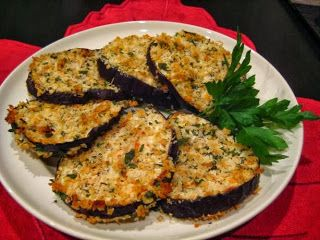 The Best Food Recipes: Oven Fried Eggplant (Aubergine)
