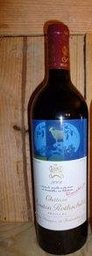 2008 Baron Philippe de Rothschild Chateau Mouton Rothschild, 1 bottle Pauillac, France http://auction.catawiki.com/kavels/428495-2008-baron-philippe-de-rothschild-chateau-mouton-rothschild-1-bottle