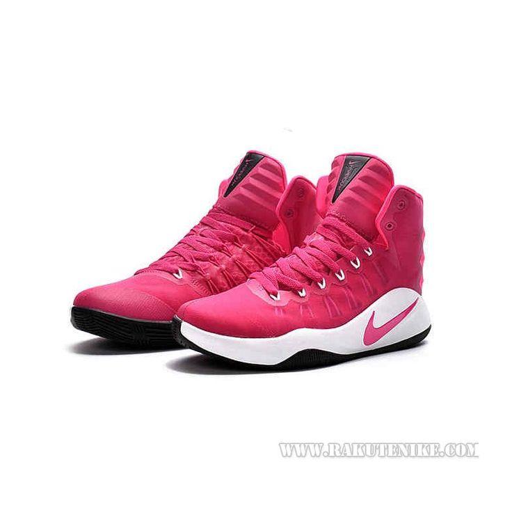"2016SS新作Nike Hyperdunk 2016 HI \""Think Pink\"" 844363 ナイキ ハイパーダンク ロー メンズ バスケットシューズ バッシュ ピンク *ホワイト WHT 白"
