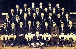 Springbokke - Wikipedia Die 1937 Springboktoerspan na Australie en Nieu-Seeland