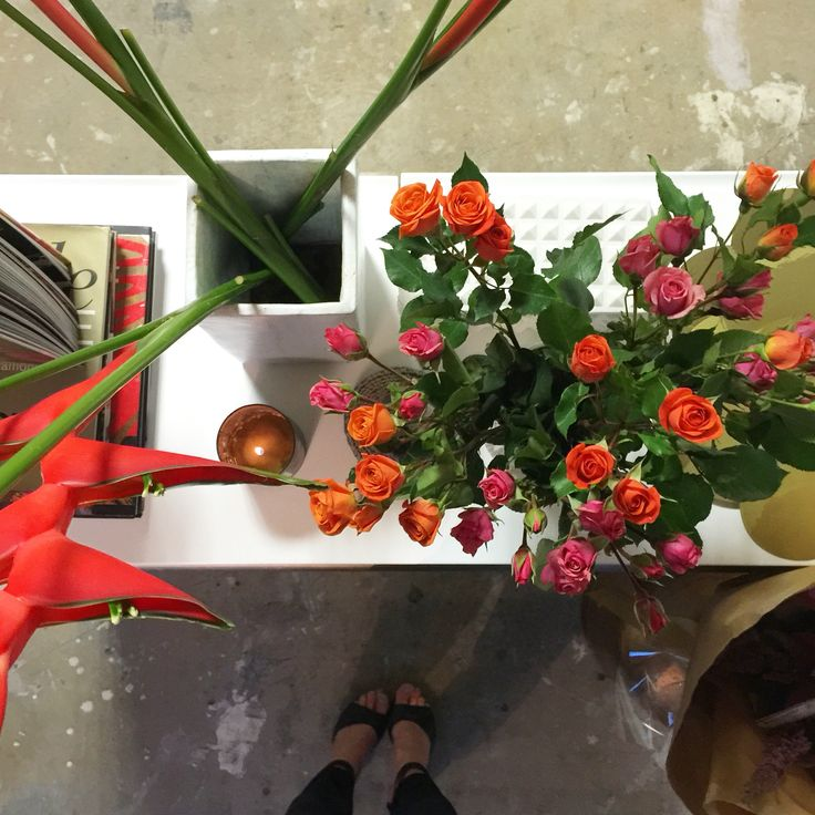 Florals light up my studios vibe. ScX