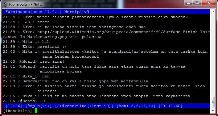 """IRC (Internet Relay Chat) - """"Chat room"""" developed by ..."""