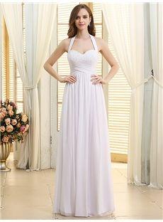 Beading Glamorous & Dramatic Natural Beach  Floor-Length Sleeveless Summer Elegant & Luxurious Wedding Dress